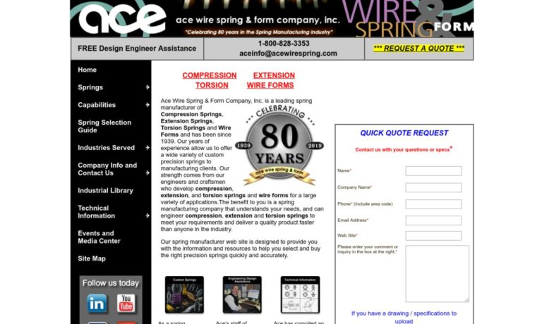 Ace Wire Spring & Form Company, Inc.