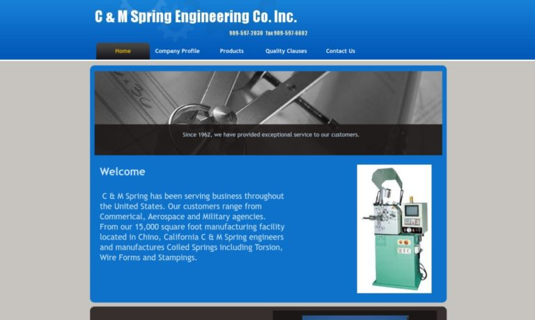 C & M Spring Engineering Company
