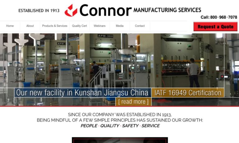 Connor Manufacturing Services