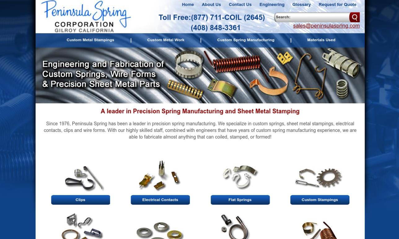 Wire Spring Clip Metal Stamping