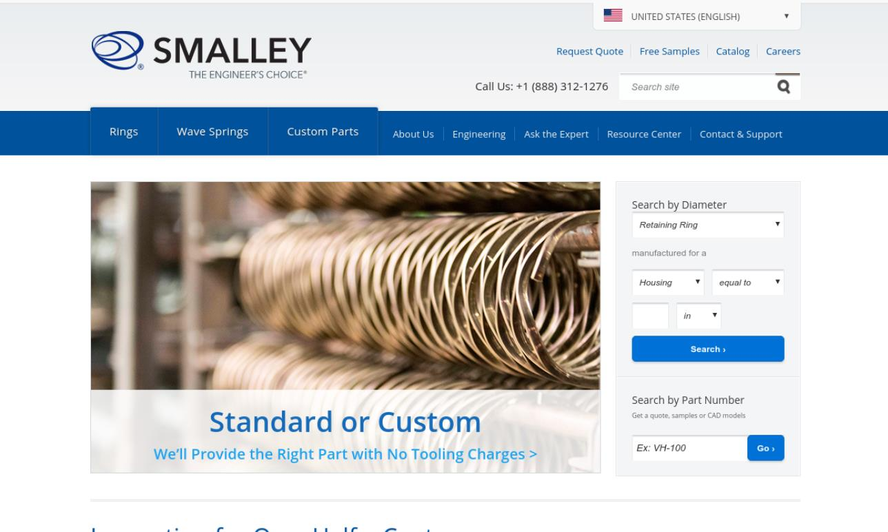 Smalley Steel Ring Co.