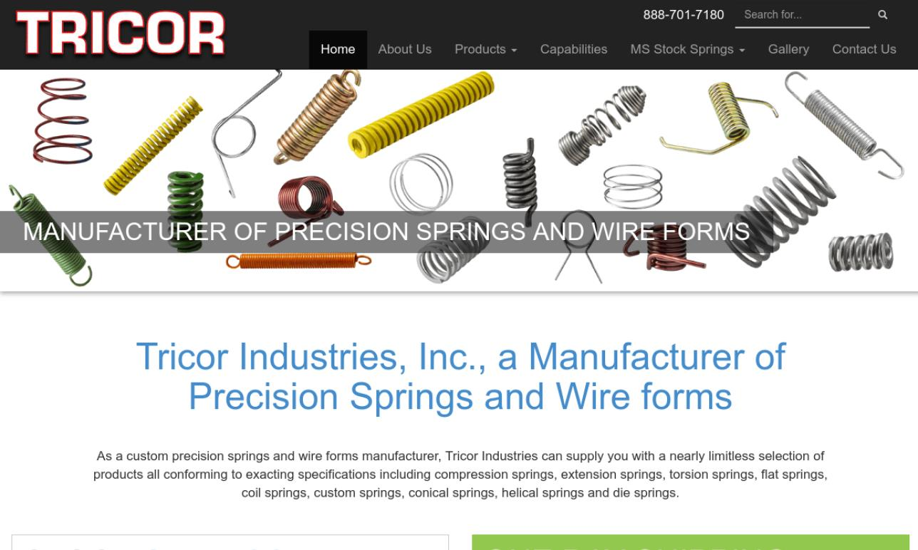 Tricor Industries, Inc.