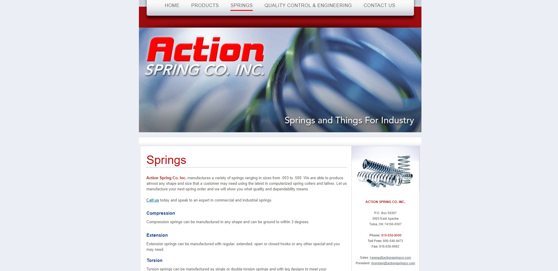 Action Spring Co.