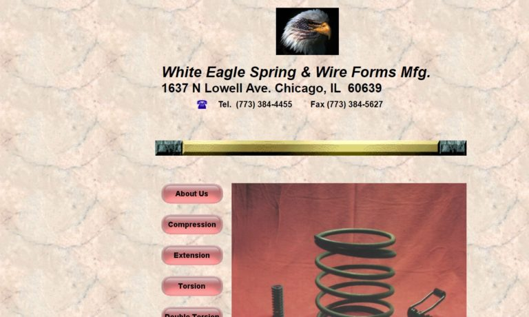 White Eagle Spring & Wire Forms Mfg.