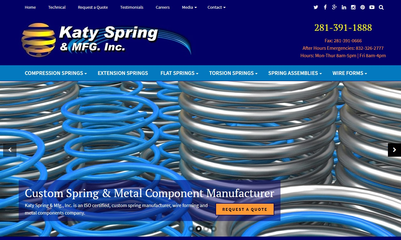Katy Spring & Mfg., Inc.